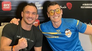 Download lagu Michael Chandler Loves Power of His Hands, Sizing Up Conor McGregor