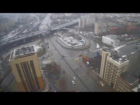 Москва - Нижегородская улица - веб камера 17.02.2020, 05:56