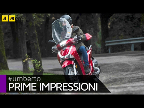 Honda SH 125i 150i 2017 TEST
