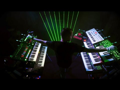 Madis - Carrying The Fire (Laser Harp Live Performance)