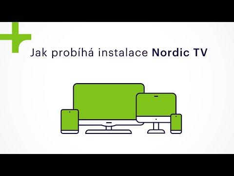 Jak probíhá instalace Nordic TV