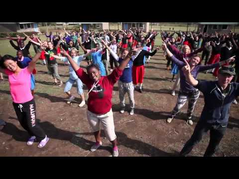 Kardinal Offishall Does the We Day Dance with Youth in Kenya!