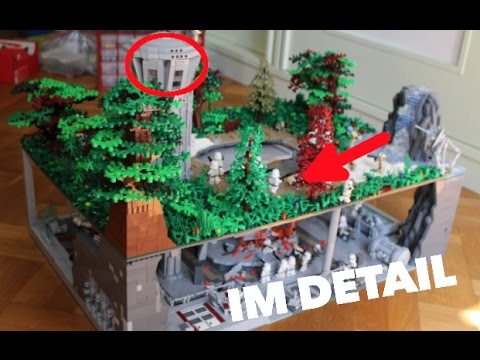 lego star wars deutsch basis auf endor im detail youtube. Black Bedroom Furniture Sets. Home Design Ideas