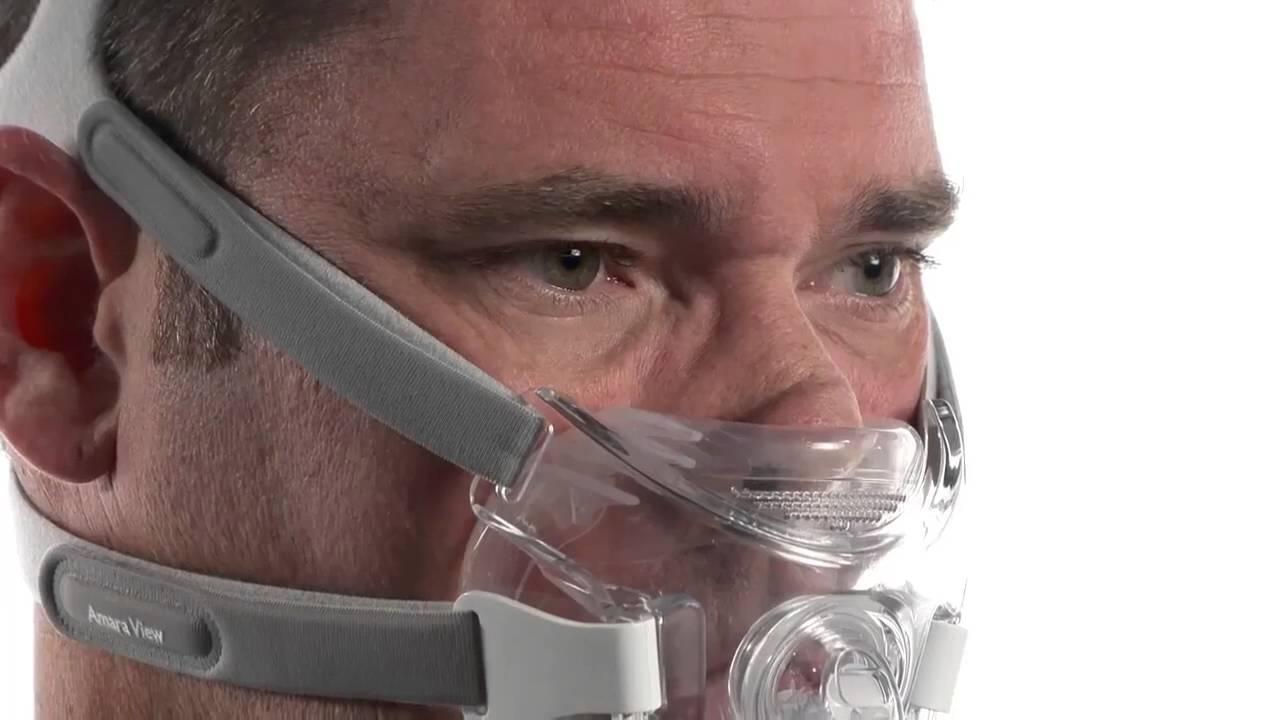 techniques modernes style actuel le dernier Mise en place du masque Amara View Philips