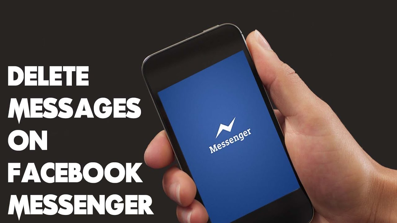 How to delete messages on facebook messenger youtube ccuart Choice Image