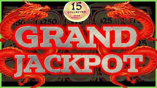 GRAND JACKPOT DRAGON LINK 🐲HAPPY & PROSPEROUS 🐲ALL 15 ORBS COLLECTED 🐲MASSIVE HANDPAY 🐲MOHEGAN SUN