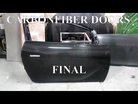 видео: Изготовление карбон-стеклопластиковых дверей Opel Asrta J. Финал