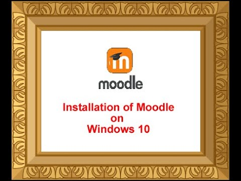 1. Installation Of Moodle On Windows 10 Operating System