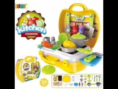 Dream Suitcase Kitchen Play set