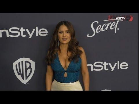 InStyle and Warner Bros 2020 Golden Globes After Party - Salma Hayek, Ariel Winter, Hailey Bieber