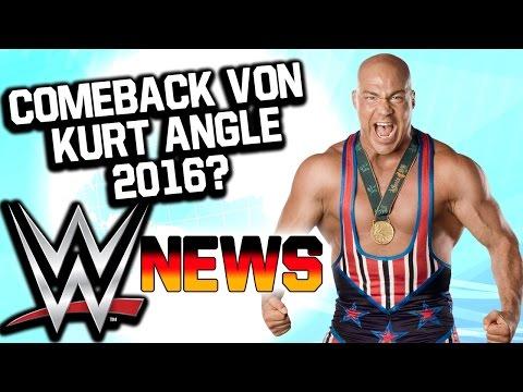 Kurt Angle Comeback 2016?, Pläne Für Tyler Breeze, Divas Fliegen Aus Restaurant   WWE NEWS 34,5/2015