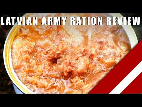 MRE Review: Latvian Army Ration - Field Test
