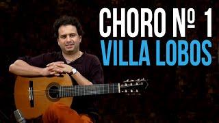 choro nº1 villa lobos como tocar aula de violo clssico