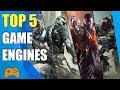 Top Five Games Engines [Game Making Software] For Beginners || No Coding Required