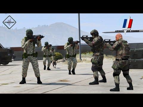 GTA 5 LSPDFR - ARMEE DE TERRE  - PATROUILLE 21 - CAMP ILLEGAL