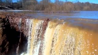 река сепыч  размывает плотину