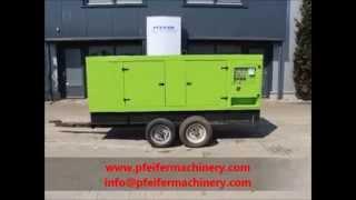 видео Дизельный генератор Pramac GSL 65 D
