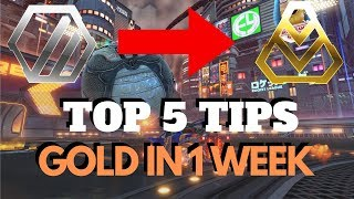 5 Easy Tips to Rank Up from Silver to Gold in 1 Week! - Rocket League Tutorial
