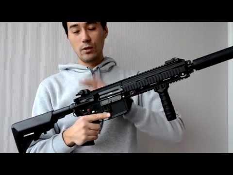 Обзор страйкбольного привода Tokyo Marui HK416 DEVGRU