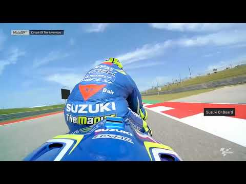 Americas GP: Suzuki OnBoard