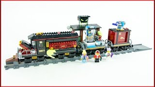 LEGO HIDDEN SIDE 70424 Ghost Train Express Construction Toy UNBOXING
