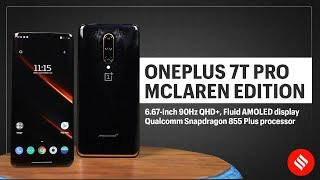 OnePlus 7T Pro McLaren Edition: First Look & Specifications