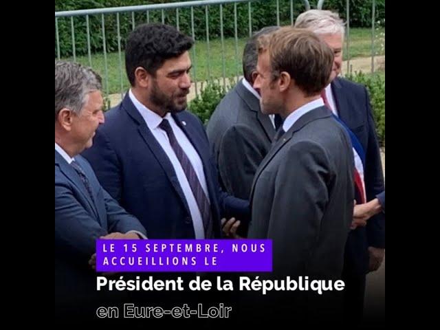 Patrimoine : le Président de la République à Illiers-Combray pour réaffirmer le soutien de l'Etat.