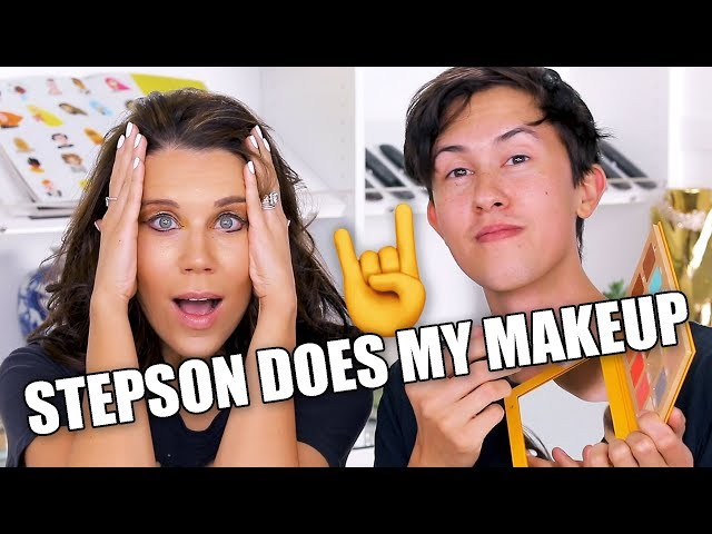 STEPSON DOES MY MAKEUP