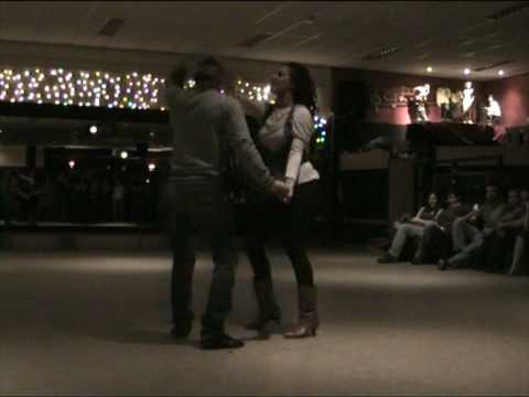 Oliver and Vali free style salsa at Los Bailadores - Holland