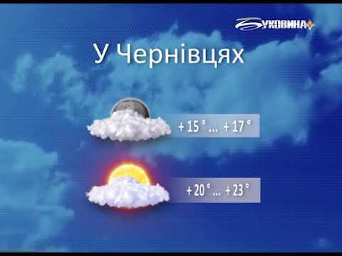ТРК Буковина: Погода на 22 червня