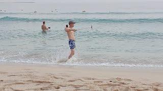 Остров Хайнань Китай погода сегодня пляж Дадунхай