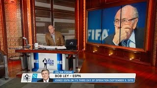 Bob Ley of ESPN Talks FIFA President Sepp Blatter on The RE Show - 5/28/15