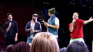 Backstreet Boys In a world like this tour Soundcheck - Favorite song