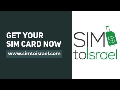 Visit Israel With An Israeli SIM Card From Simtoisrael