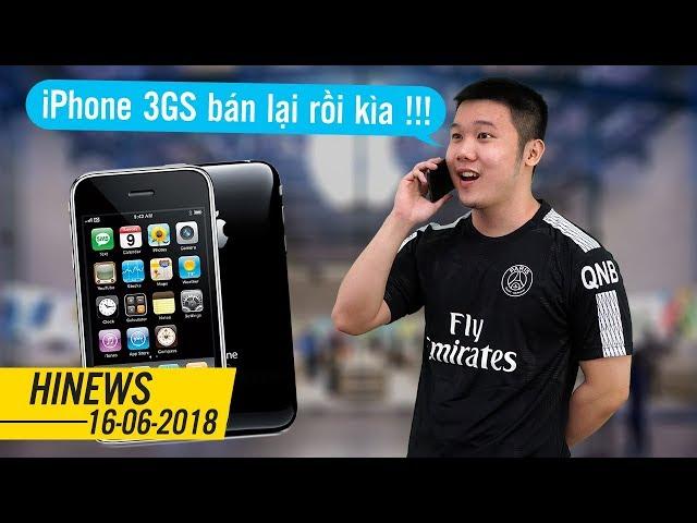 iPhone 3GS bất ngờ bán trở lại giá 1 triệu, Messenger Facebook trên iOS gặp lỗi Crash-app | HINEWS