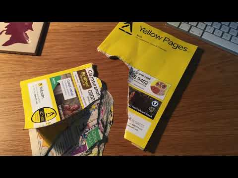 Good Old Yellow Pages