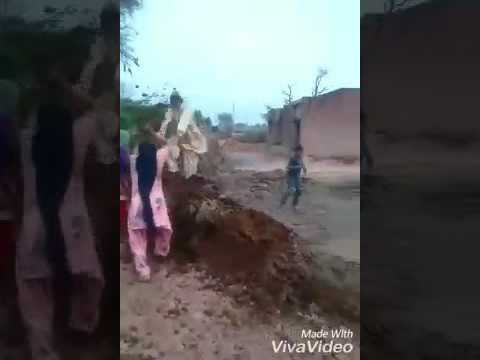 Punjabi ladies beating a man