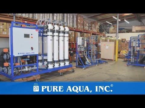 Ultrafiltration System for Bottling Plant 150 GPM | Ghana | www.pureaqua.com