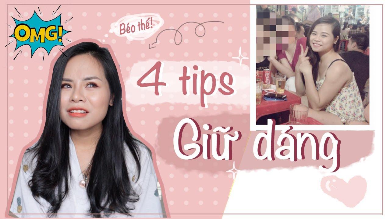 4 THÓI QUEN hàng ngày giúp giảm cân-giữ dáng không cần tập thể dục♡