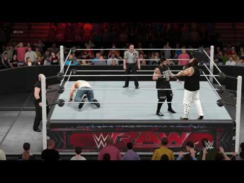WWE MONDAY NIGHT RAW:KEVIN OWENS VS LUKE HARPER
