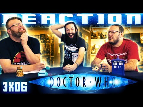 "Doctor Who 3x6 REACTION!! ""The Lazarus Experiment"""