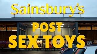 SAINSBURY'S POST SEX TOYS