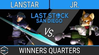 lssd 80 lanstar marth vs dtb b2s jr fox ssbm winners quarters smash melee