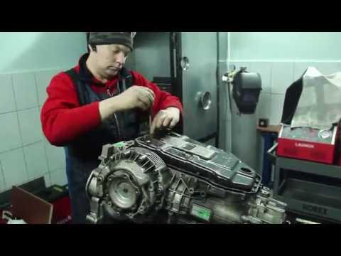 VW, SKODA ошибка АКПП, буксуют передачи. РЕМОНТ 5HP19