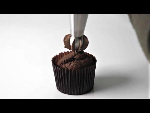 초콜릿 컵케이크 만들기 Chocolate Cupcakes Recipe   한세 HANSE