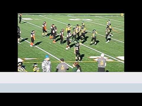 Evergreen Vikings 5th Grade Football vs Tecumseh, MI