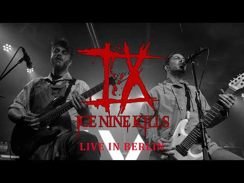"ICE NINE KILLS - ""Merry Axe-Mas"" live in Berlin [CORE COMMUNITY ON TOUR]"