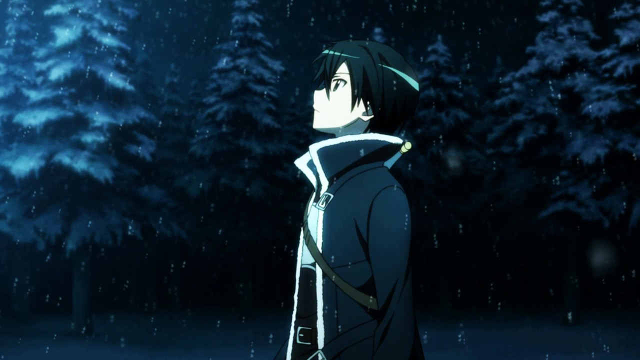 live anime wallpaper (sword art online) - at our parting 🎶 [hd