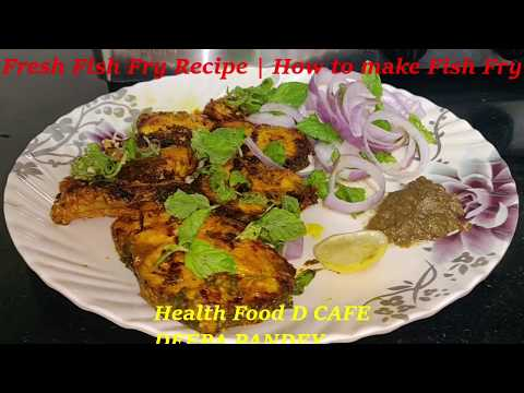 Fresh Fish Fry | How To Make Fish Fry| Delicious Fish Fry| Monsoon Special