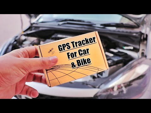 GPS Tracker For Car, Bike, And Activa | Review And Installation.